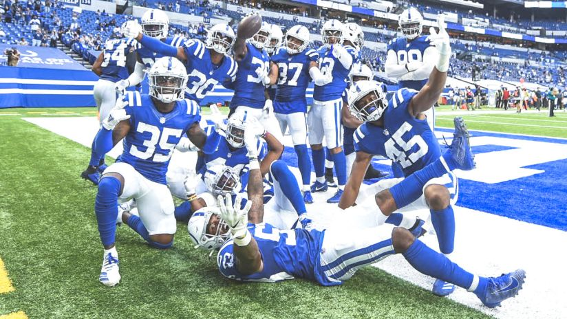 Colts Start Off Hot