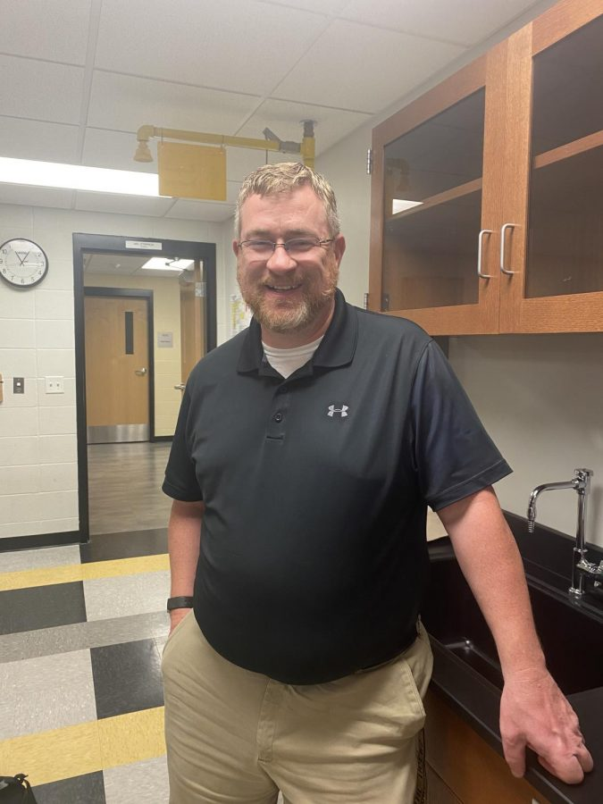The Science Halls Newest Face, Mr. Stippich